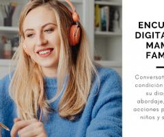 Encuentro digital para mamás y familias en abril 2021